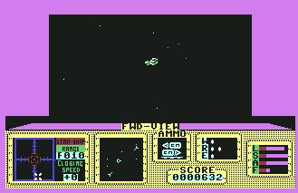 Pantallazo de Space Hunter para Commodore 64