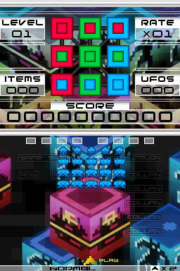 Pantallazo de Space Invaders Extreme 2 para Nintendo DS