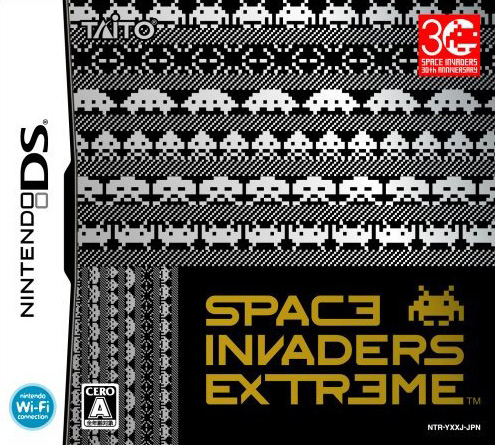 Caratula de Space Invaders Extreme para Nintendo DS
