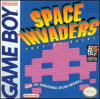 Caratula de Space Invaders para Game Boy
