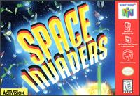 Caratula de Space Invaders para Nintendo 64
