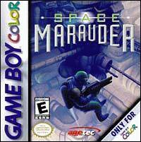 Caratula de Space Marauder para Game Boy Color
