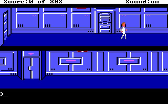 Pantallazo de Space Quest 1: EGA para PC