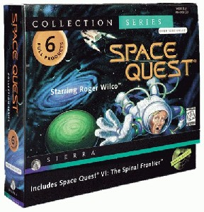 Caratula de Space Quest Collection 2 para PC
