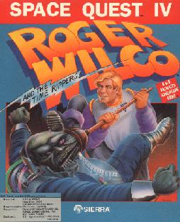 Caratula de Space Quest IV: Roger Wilco and the Time Rippers para PC