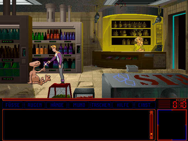 Pantallazo de Space Quest VI: Roger Wilco in The Spinal Frontier para PC