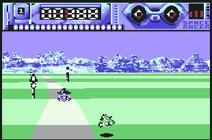 Pantallazo de Space Racer para Commodore 64