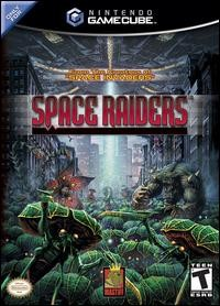 Caratula de Space Raiders para GameCube