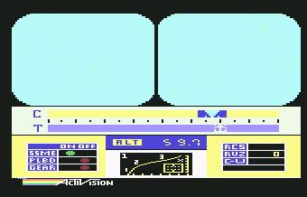 Pantallazo de Space Shuttle para Commodore 64
