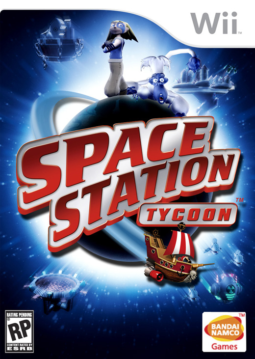 Caratula de Space Station Tycoon para Wii