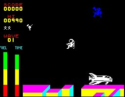 Pantallazo de Space Walk para Spectrum