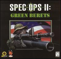 Caratula de Spec Ops II: Green Berets [Jewel Case] para PC