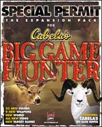 Caratula de Special Permit: The Expansion Pack for Cabela's Big Game Hunter para PC