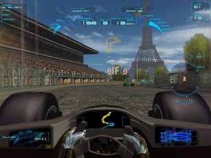 Pantallazo de Speed Challenge - J. Villeneuve Racing Vision para PlayStation 2