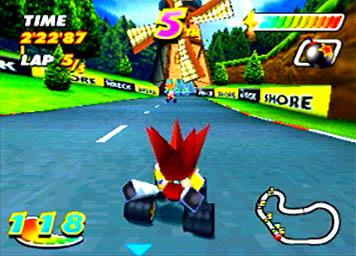 Pantallazo de Speed Freaks para PlayStation