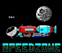 Pantallazo de Speed Zone para Spectrum