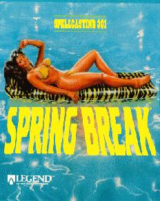 Caratula de Spellcasting 301: Spring Break para PC