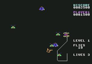 Pantallazo de Spider and the Fly para Commodore 64