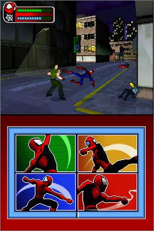 Pantallazo de Spider-Man: Battle for New York para Nintendo DS