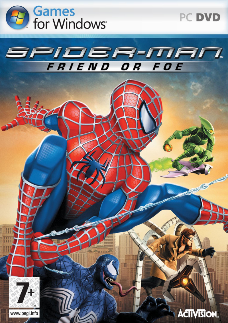 Caratula de Spider-Man: Friend or Foe para PC