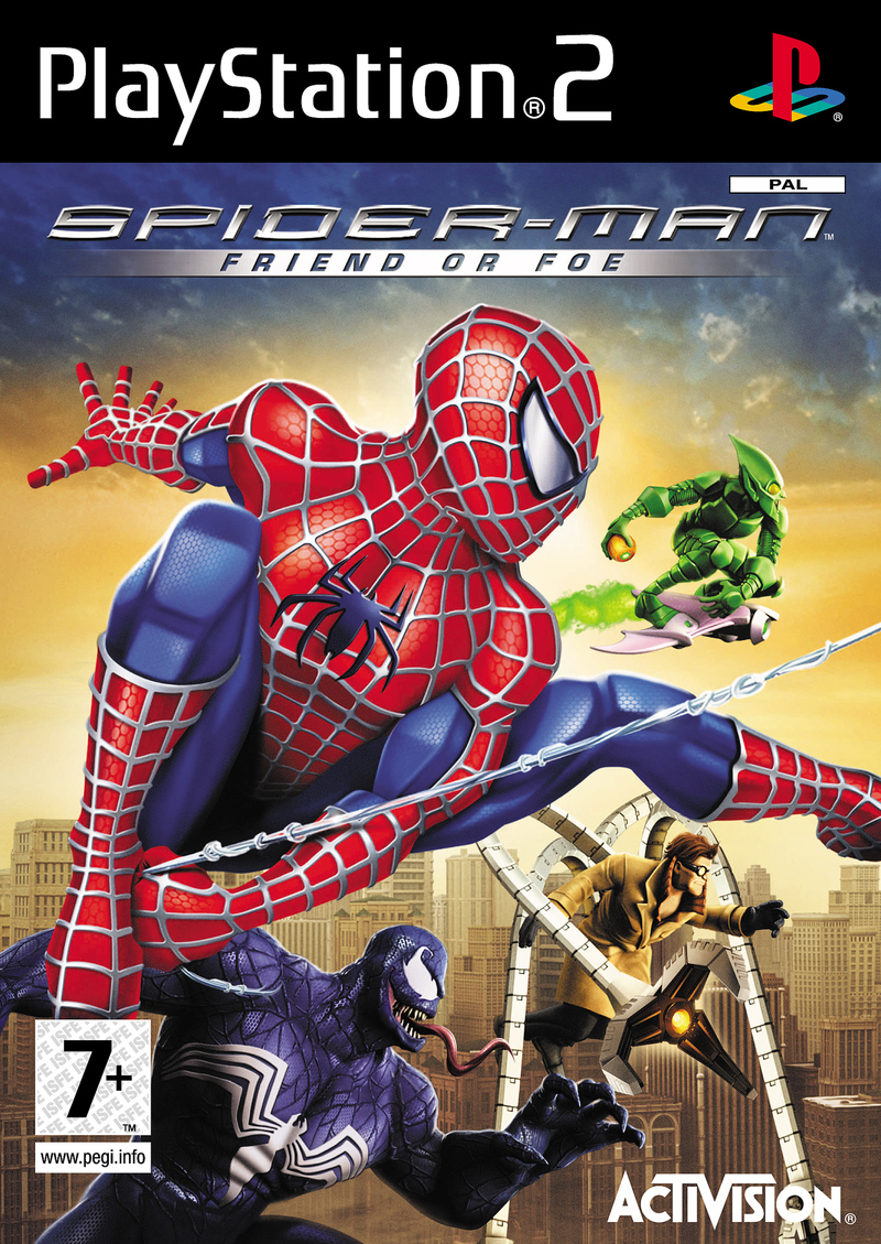 Caratula de Spider-Man: Friend or Foe para PlayStation 2