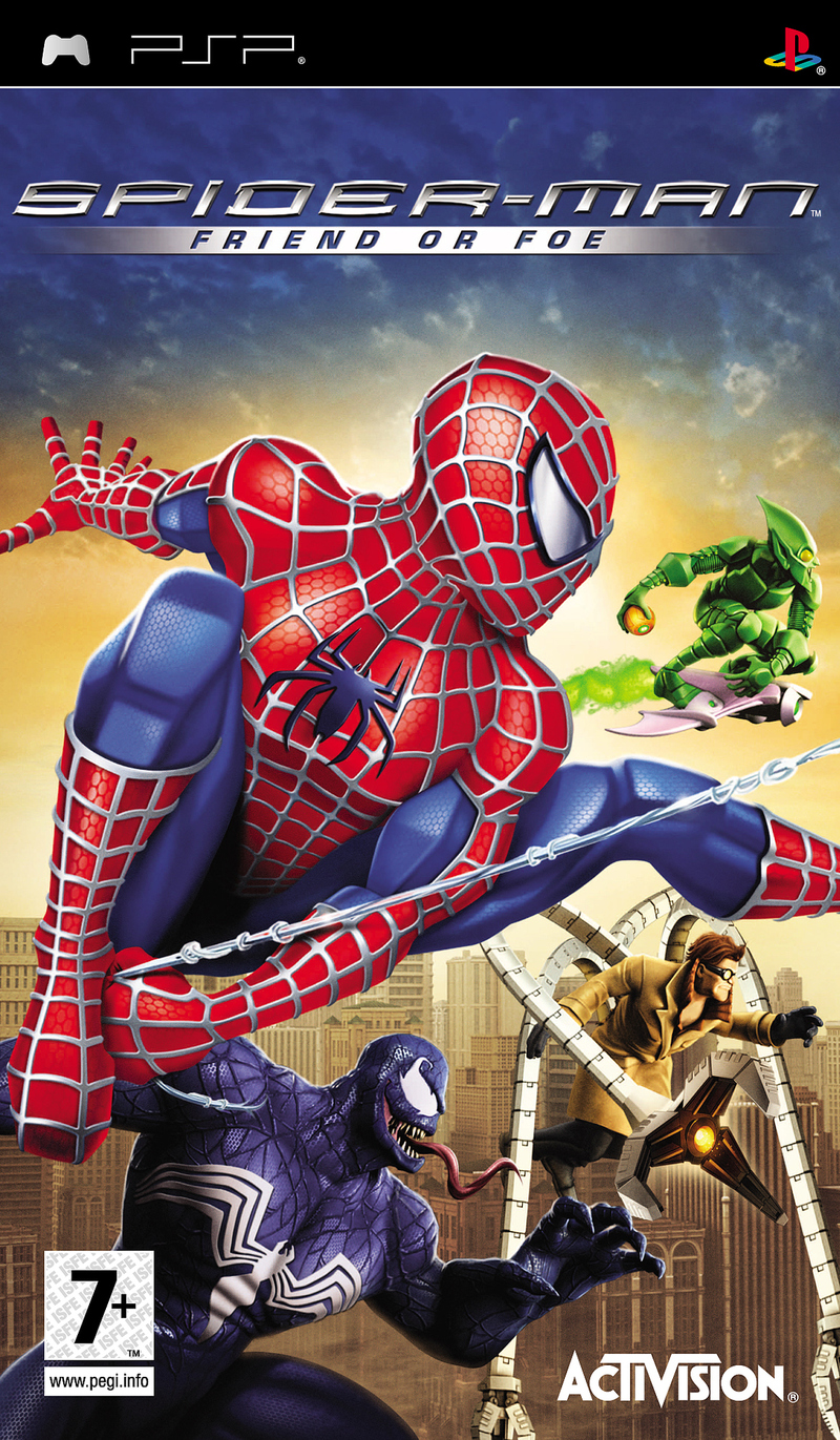 Caratula de Spider-Man: Friend or Foe para PSP