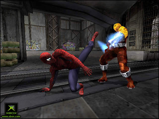Pantallazo de Spider-Man: The Movie para Xbox