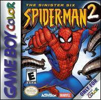 Caratula de Spider-Man 2: The Sinister Six para Game Boy Color