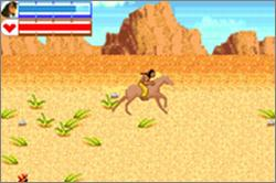 Pantallazo de Spirit: Stallion of the Cimarron -- Search for Homeland para Game Boy Advance
