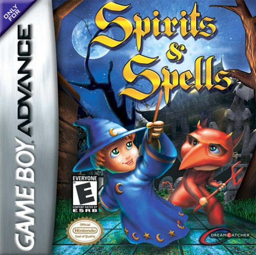 Caratula de Spirits & Spells para Game Boy Advance