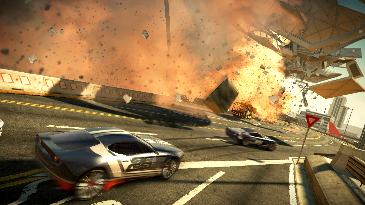 Pantallazo de Split/Second para Xbox 360