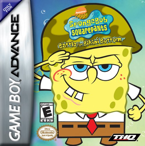 Caratula de SpongeBob SquarePants: Battle for Bikini Bottom para Game Boy Advance