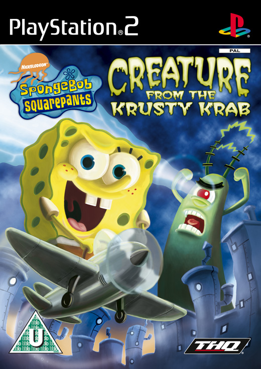 Caratula de SpongeBob SquarePants: Creature From the Krusty Krab para PlayStation 2