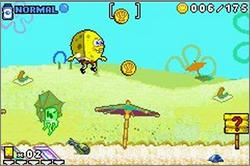 Pantallazo de SpongeBob SquarePants: Revenge of the Flying Dutchman para Game Boy Advance