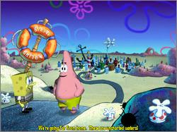 Pantallazo de SpongeBob SquarePants Movie, The para PC