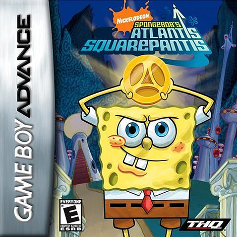 Caratula de SpongeBob's Atlantis SquarePantis para Game Boy Advance