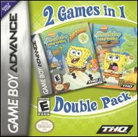 Caratula de Spongebob Squarepants: 2 Games in 1 Double Pack para Game Boy Advance