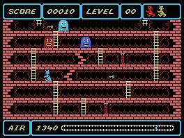 Pantallazo de Spooks and Ladders para MSX
