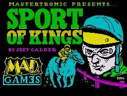 Pantallazo de Sport of Kings para Spectrum