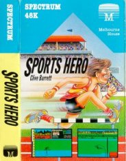 Caratula de Sports Hero para Spectrum