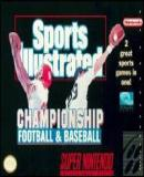 Carátula de Sports Illustrated Championship Football & Baseball