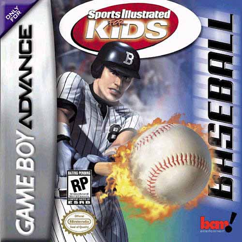 Caratula de Sports Illustrated for Kids Baseball para Game Boy Advance