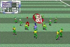 Pantallazo de Sports Illustrated for Kids Football para Game Boy Advance