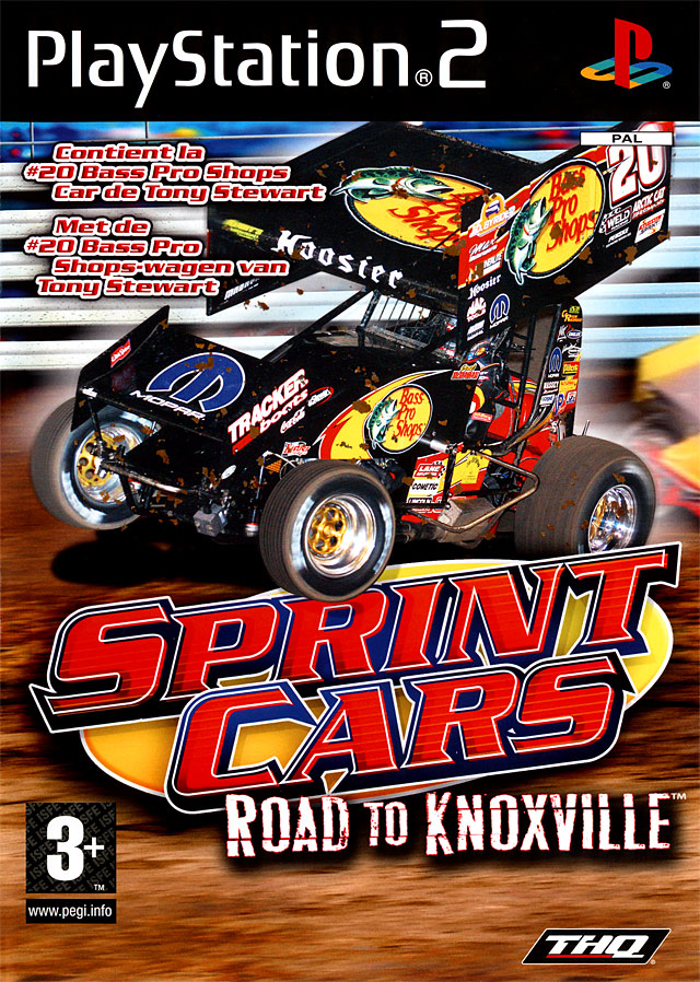 Caratula de Sprint Cars: Road to Knoxville para PlayStation 2
