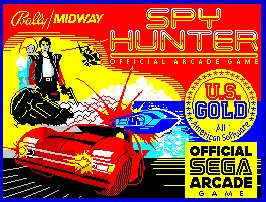 Pantallazo de Spy Hunter para Spectrum