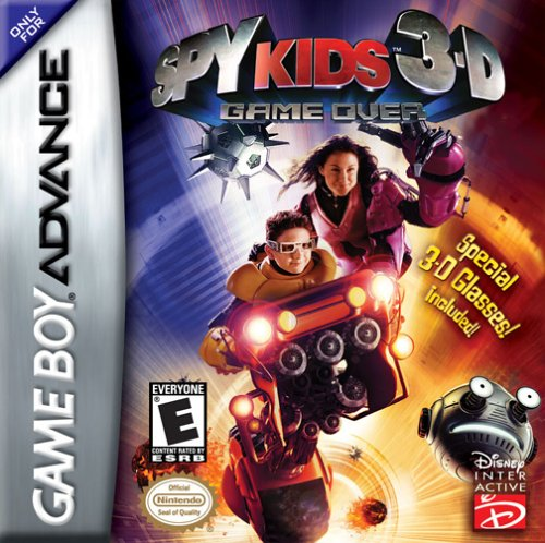 Caratula de Spy Kids 3-D: Game Over para Game Boy Advance