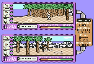 Pantallazo de Spy vs Spy 2: The Island Caper para Commodore 64