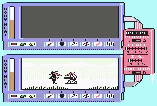 Pantallazo de Spy vs Spy III para Commodore 64