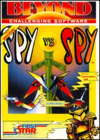 Caratula de Spy vs Spy para Commodore 64