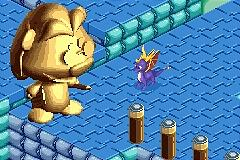 Pantallazo de Spyro Adventure para Game Boy Advance